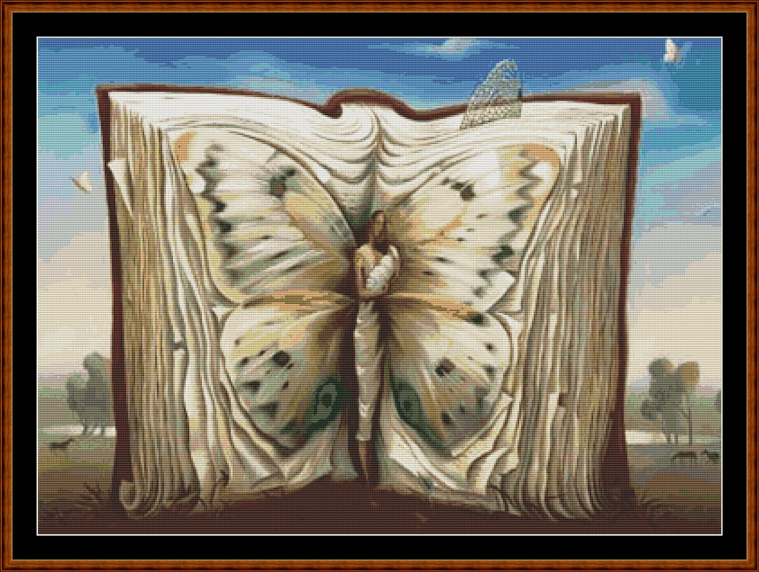 Butterfly Book Cross Stitch
