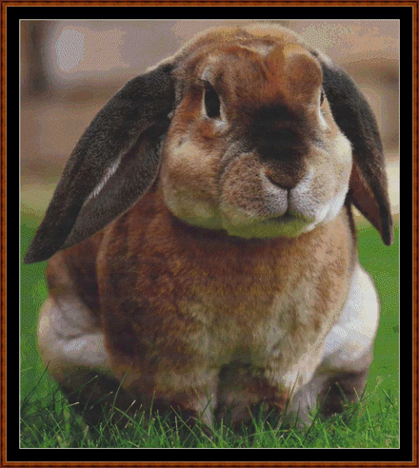 Runny Babbit Cross Stitch