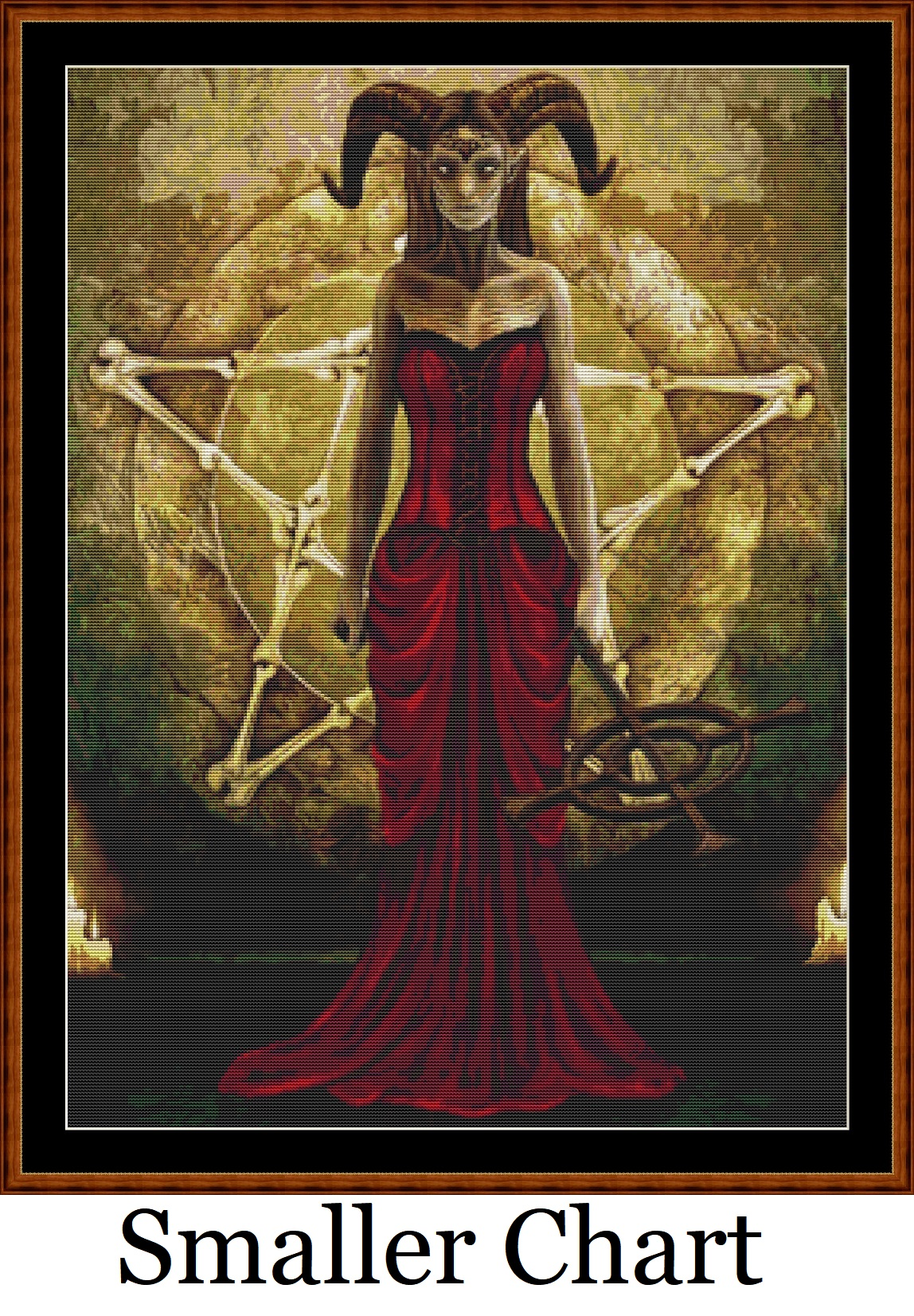 High Priestess Cross Stitch