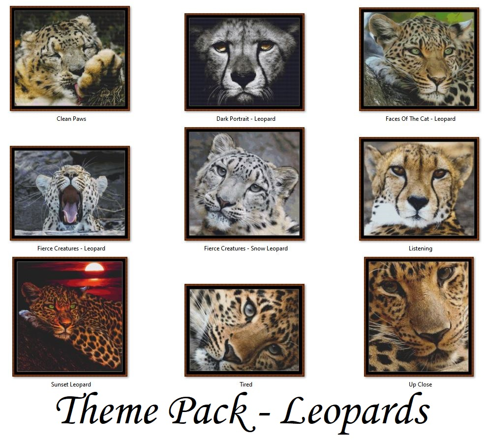 ** Themed Patterns Packs