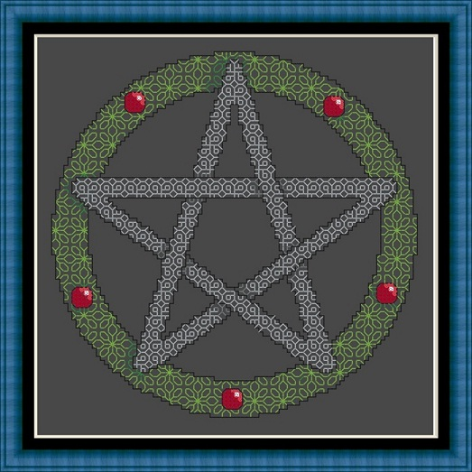 Pentagram Blackwork