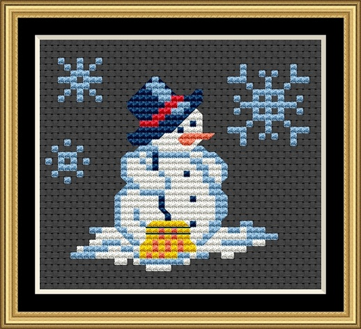 Snowmen - The Cleaner Cross Stitch