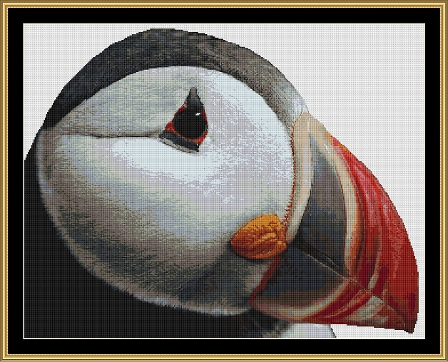 Puffin Cross Stitch
