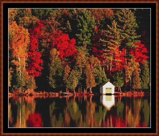 Autumn Colours Cross Stitch