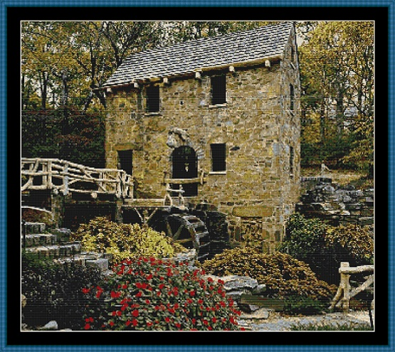 The Watermill Cross Stitch