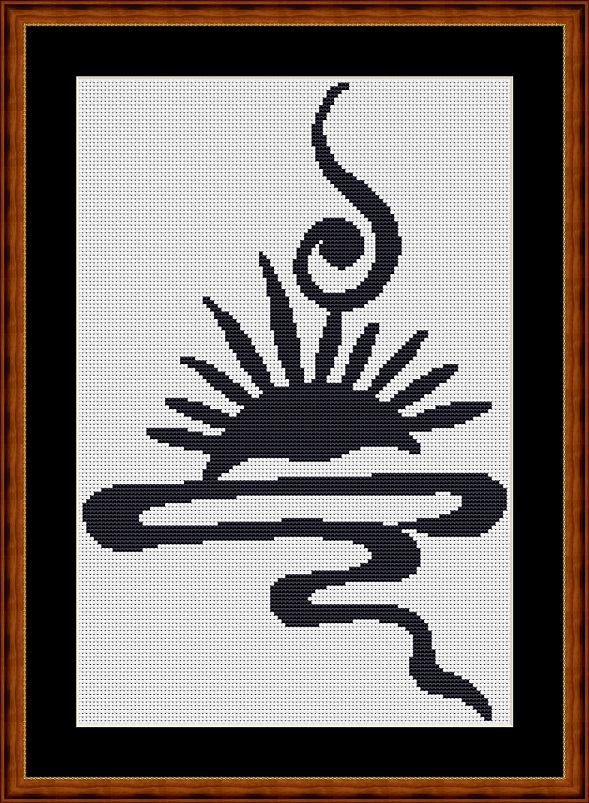 Celtic Sunset Cross Stitch