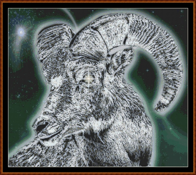 Aries 2 Cross Stitch