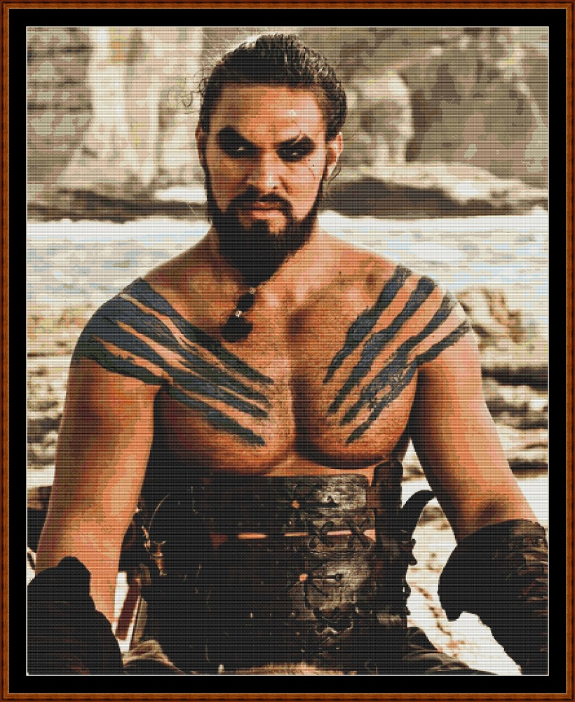 khal Drogo Cross Stitch