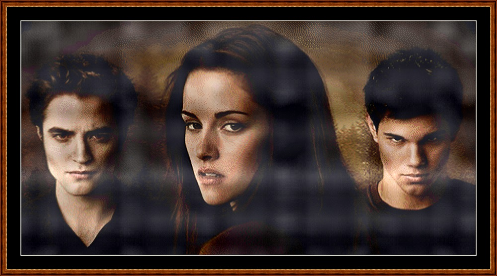 Twilight 3 Cross Stitch