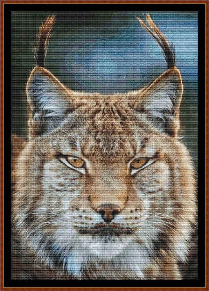 Lynx ! Cross Stitch