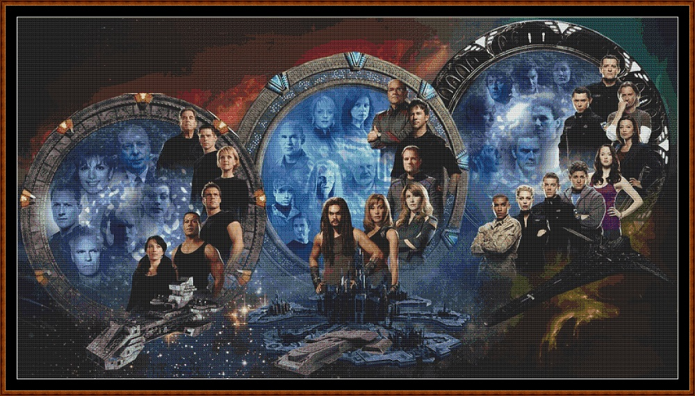 Stargates Cross Stitch