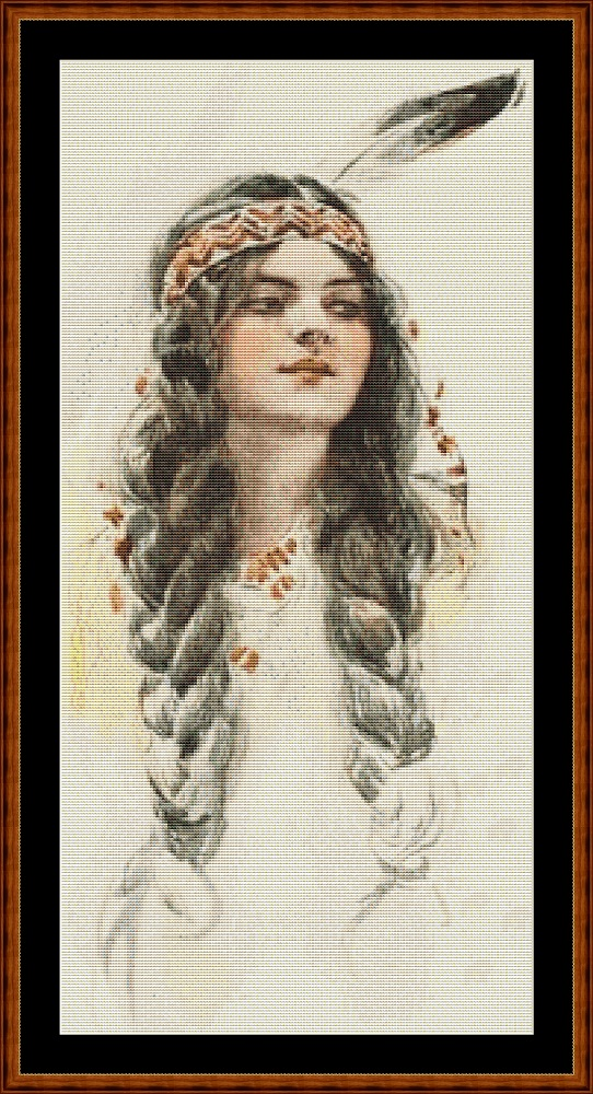 Portrait (SMALL) Cross Stitch