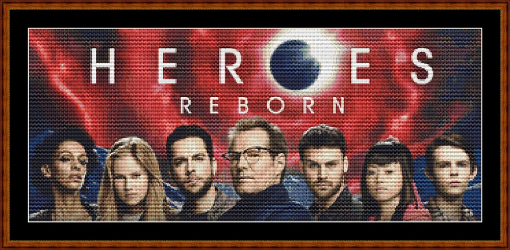 Heroes Reborn (SMALL) Cross Stitch