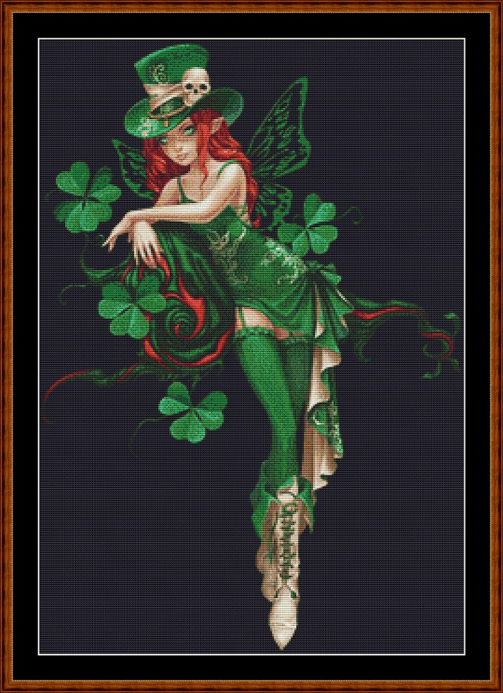 Luck Fairy (SMALL) Cross Stitch