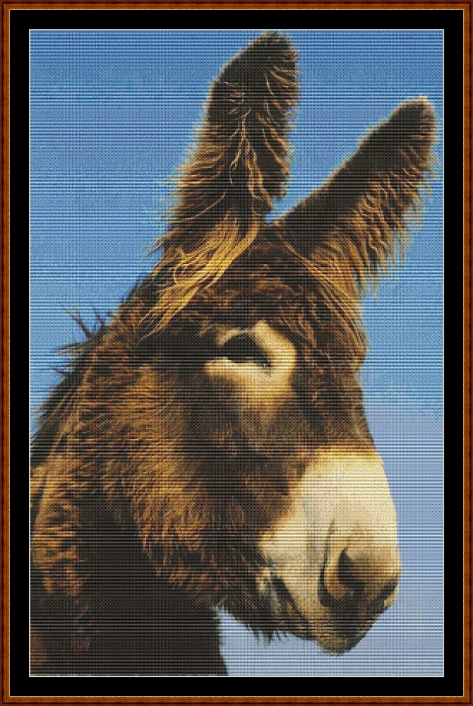 Donkey Cross Stitch
