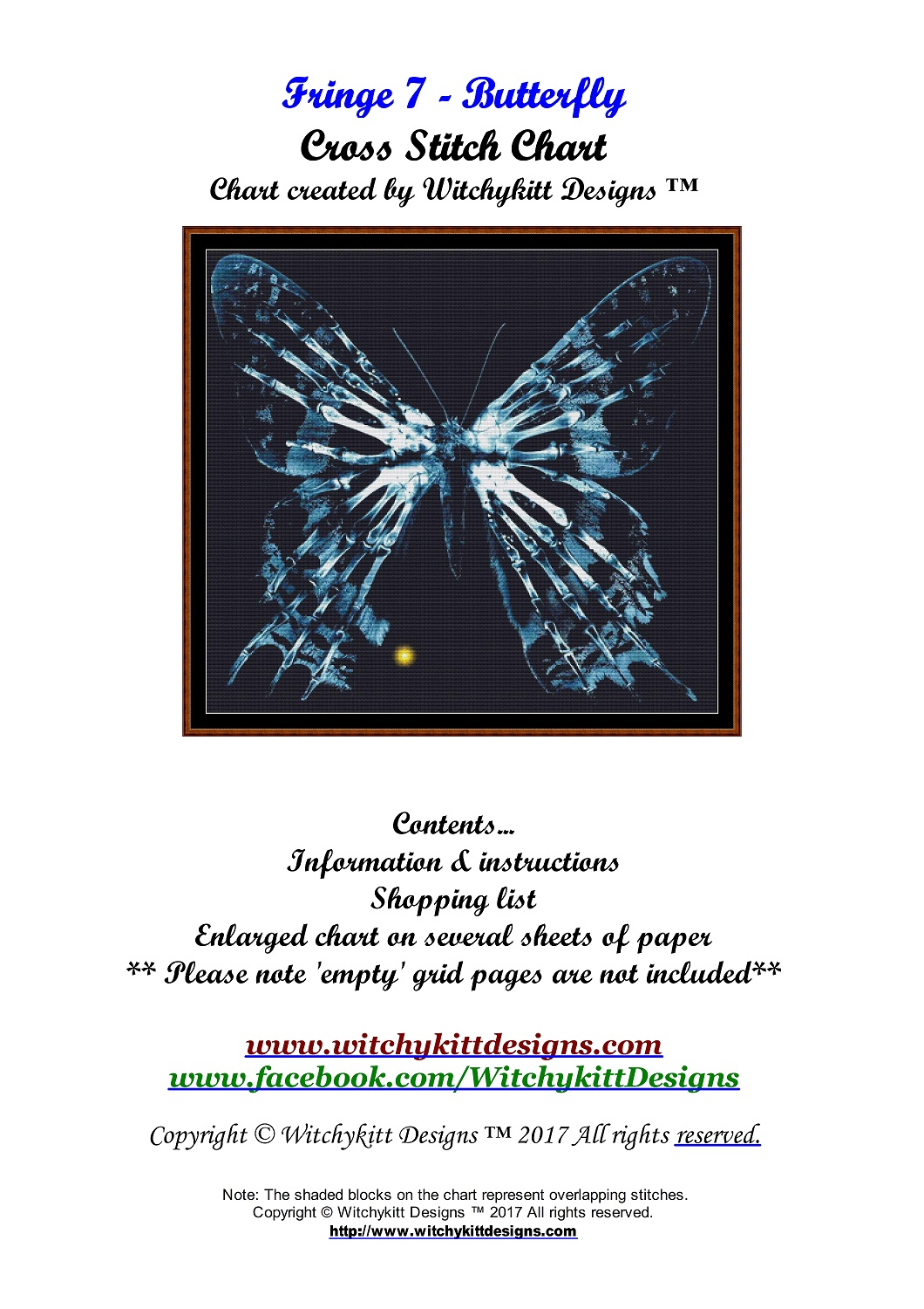 Fringe 7 - Butterfly Cross Stitch