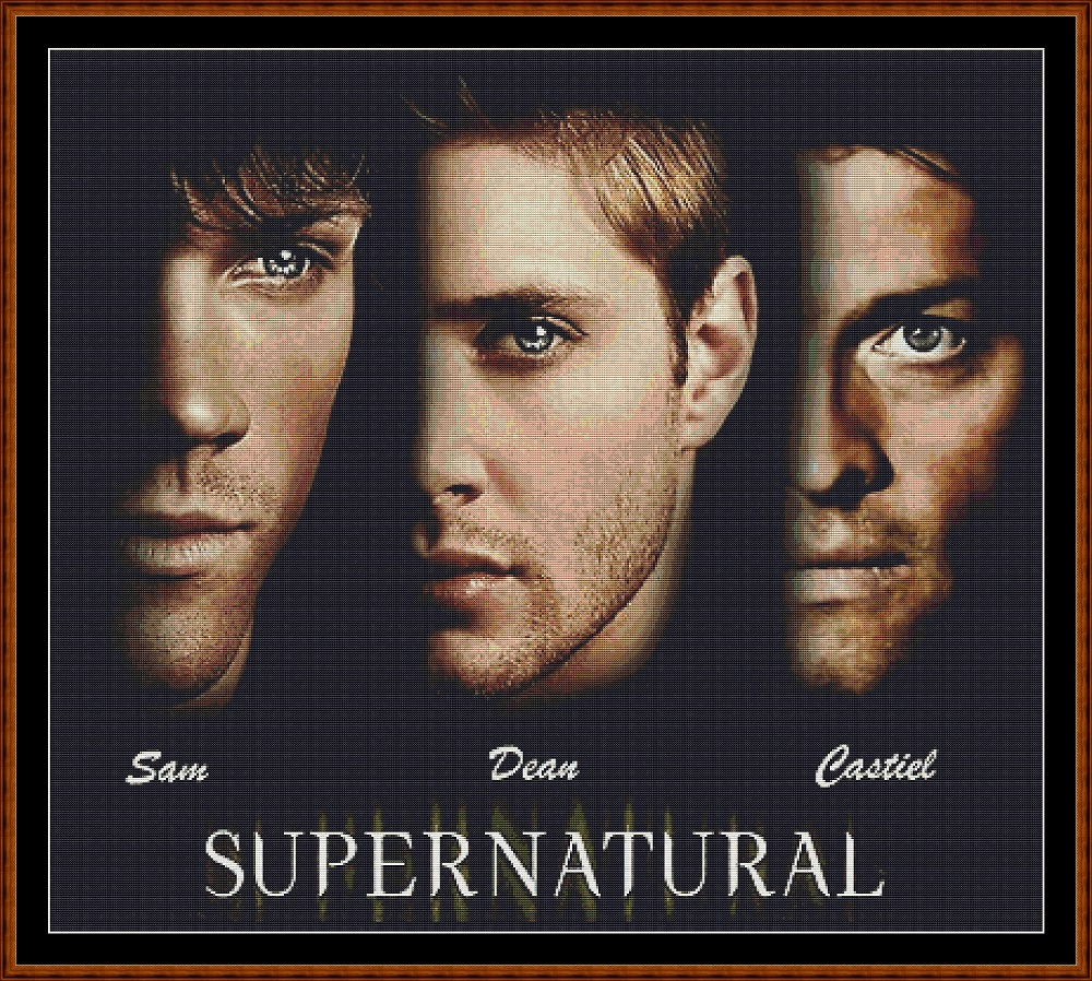 Supernatural 2 Cross Stitch