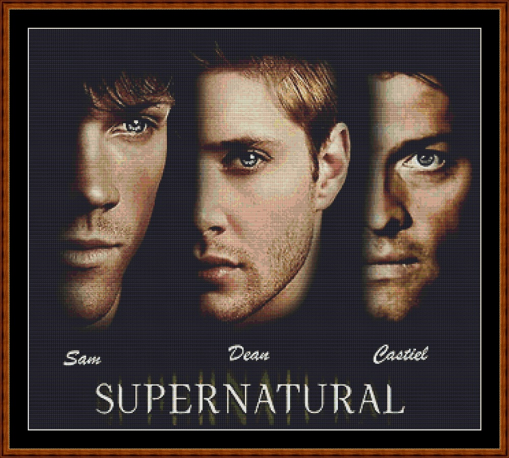 Supernatural 2 (SMALL) Cross Stitch