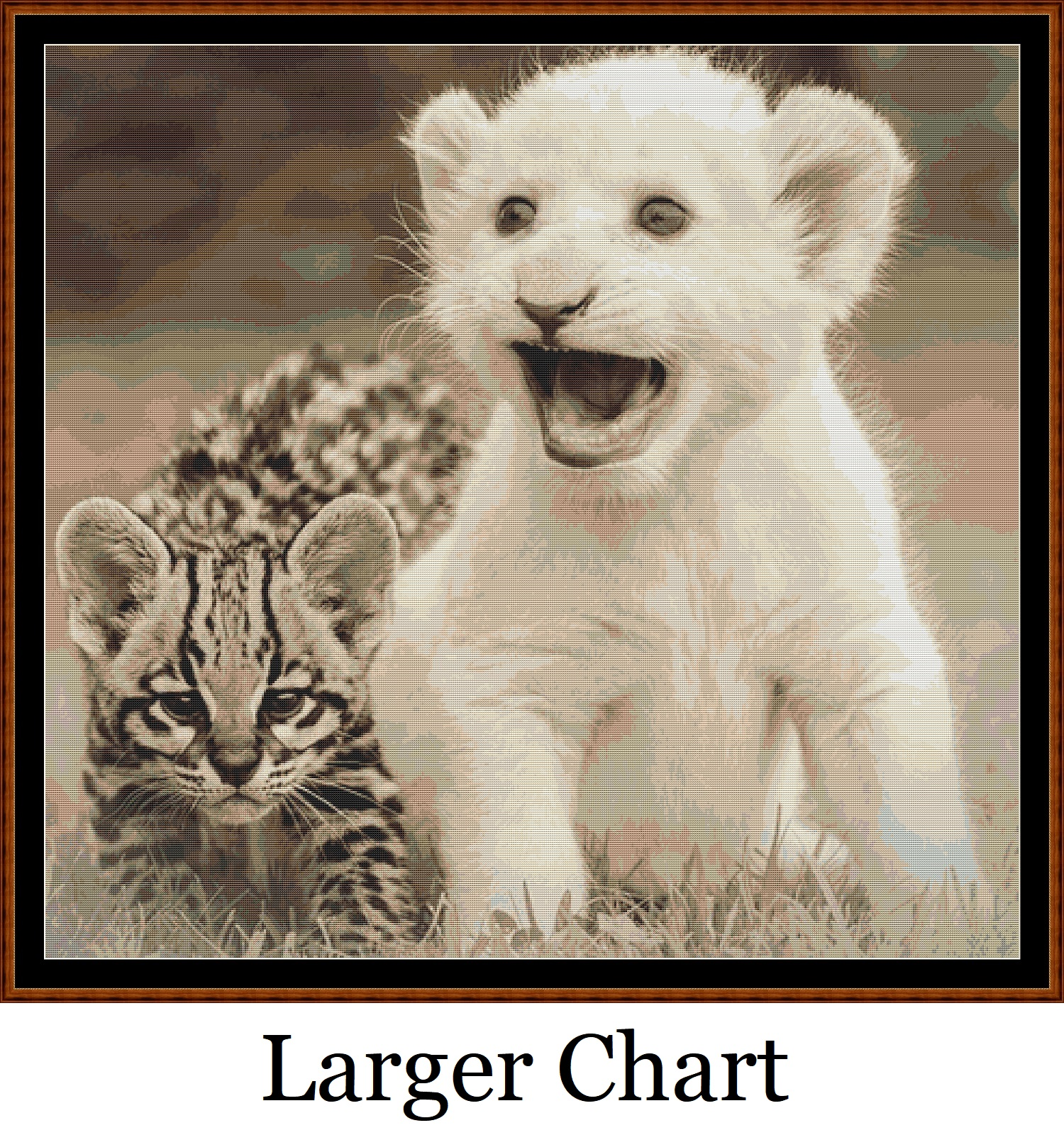 Little Friends Cross Stitch - Click Image to Close