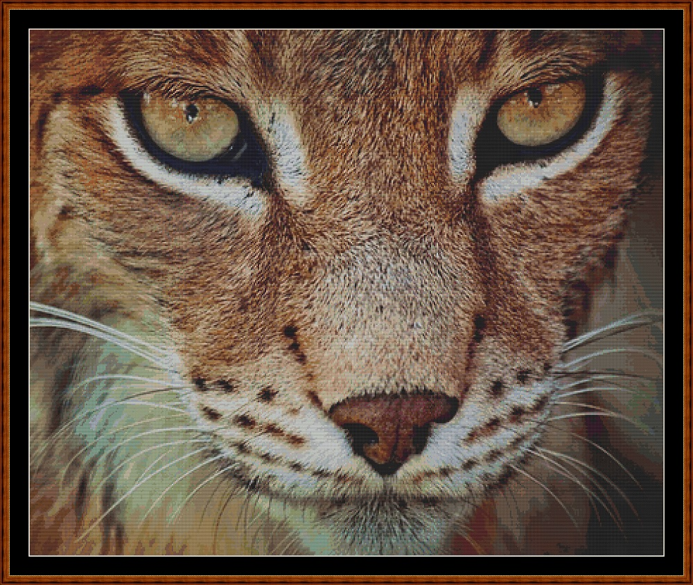 The Lynx Cross Stitch