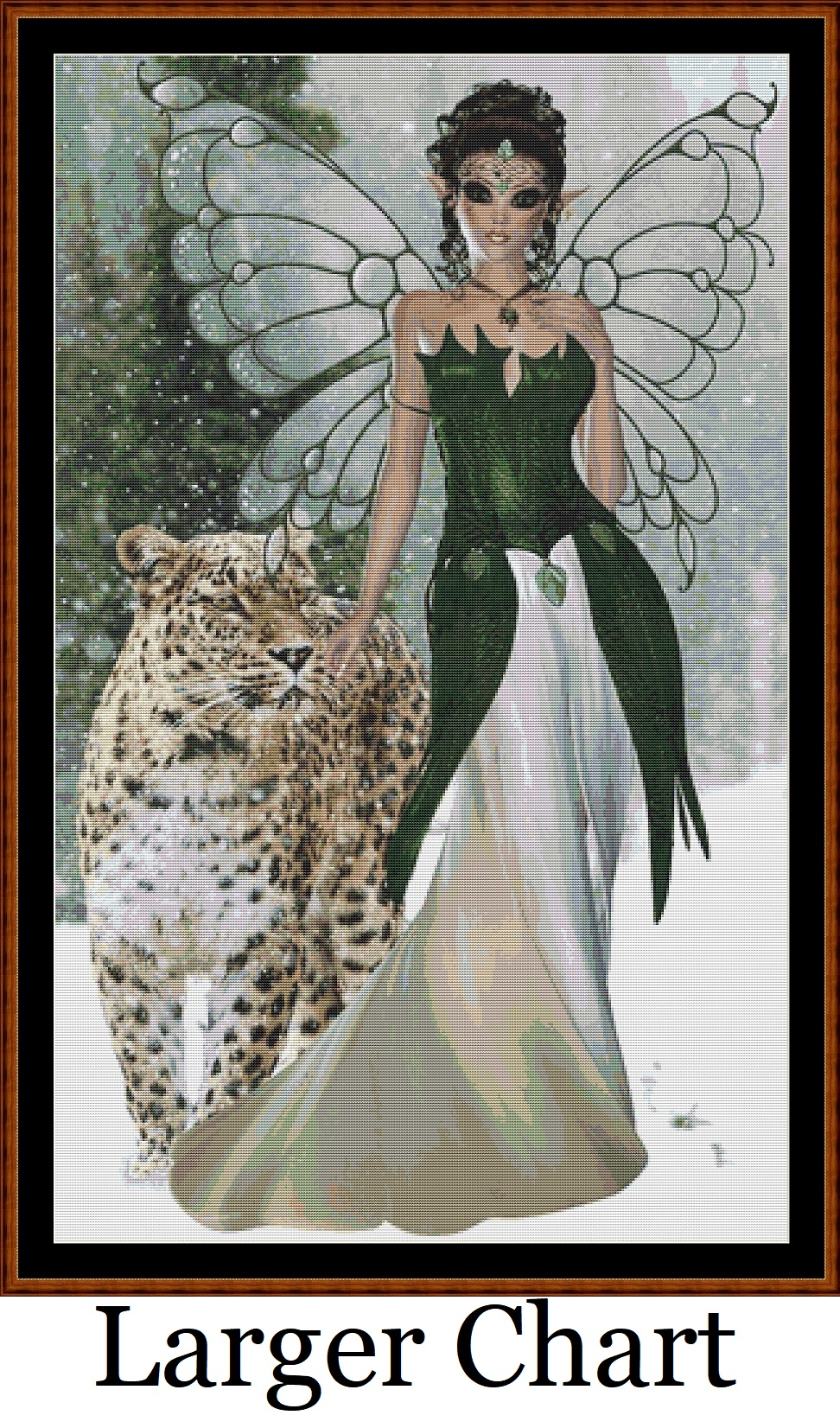 Cat Fairy Cross Stitch