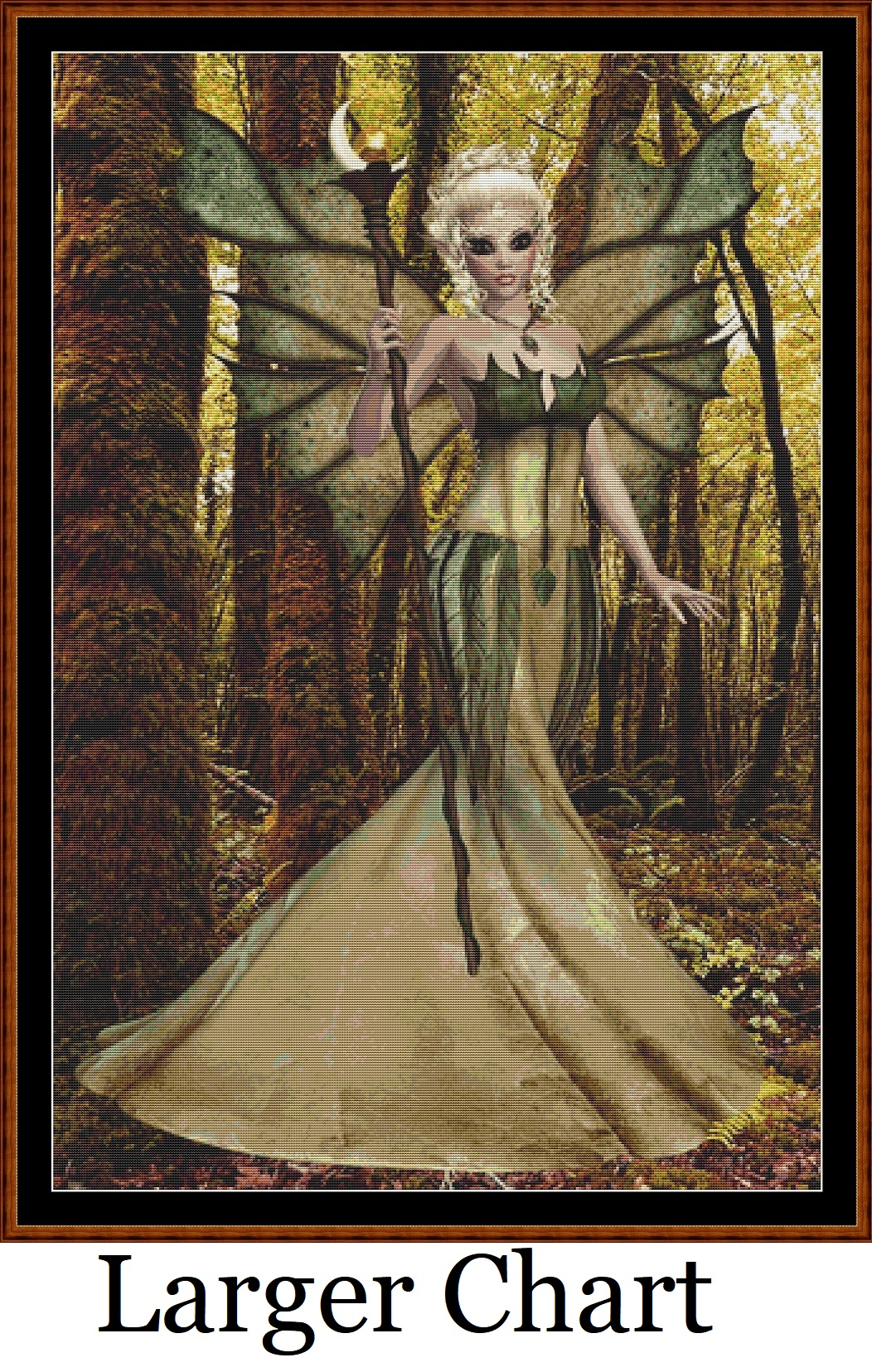 Woodland Fairy Cross Stitch