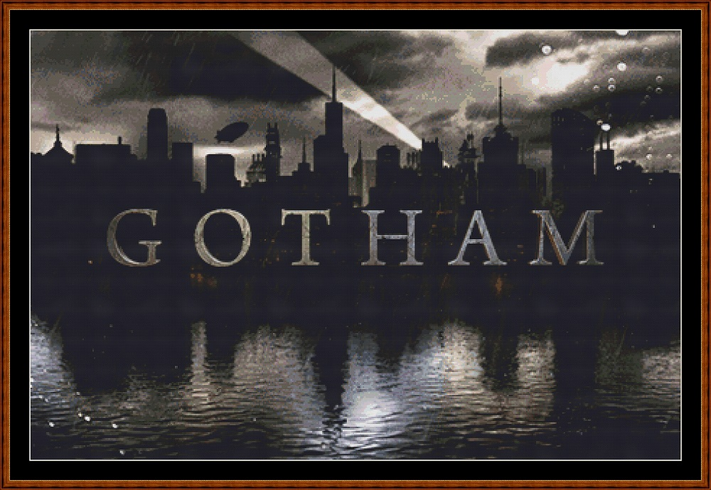 Gotham Cross Stitch