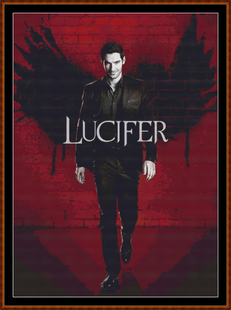 Lucifer Cross Stitch