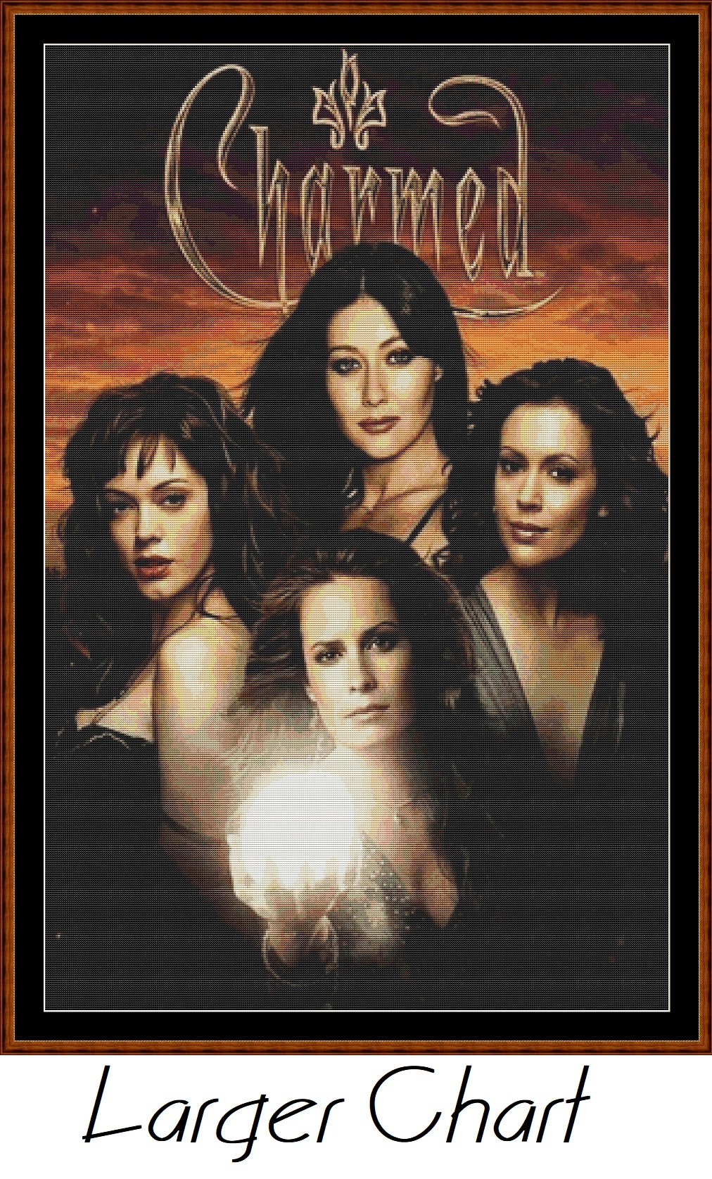 Charmed 2 Cross Stitch