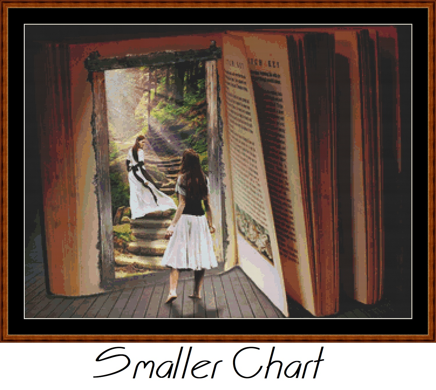 Book Reality Cross Stitch