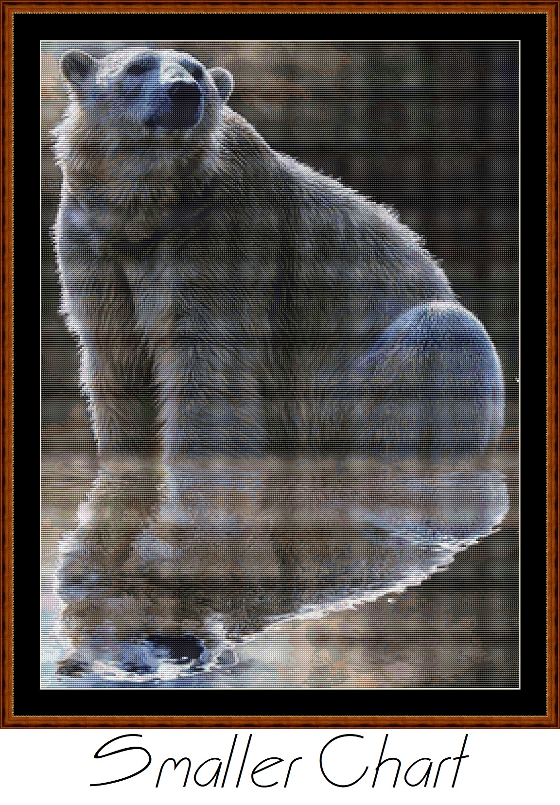 Polar Reflection Cross Stitch
