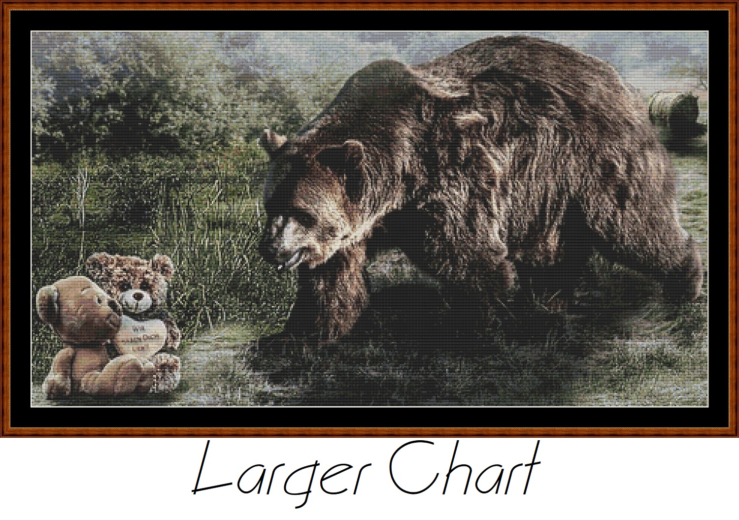 Bears Cross Stitch