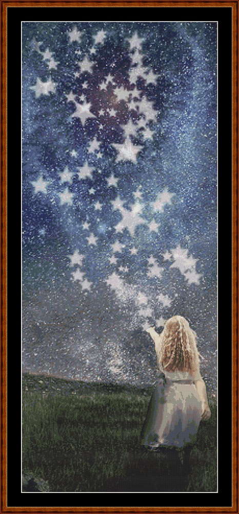 Star Release Cross Stitch