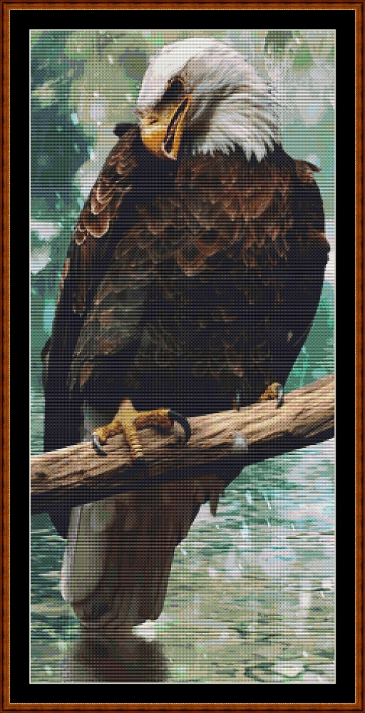 Eagle Rest Cross Stitch