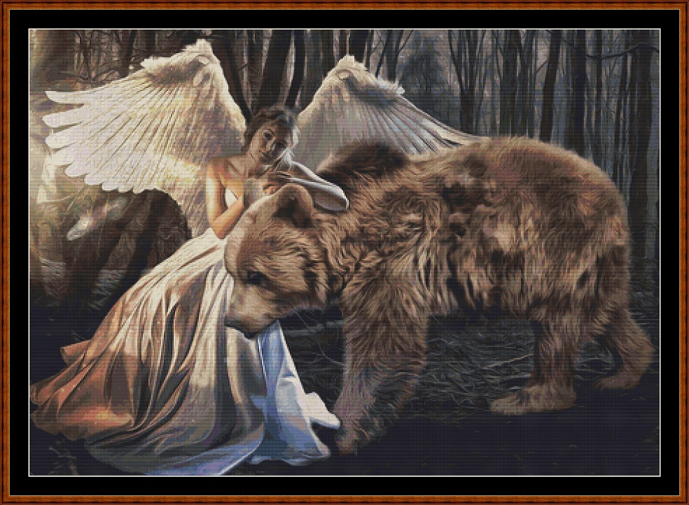 Angel's Pet Cross Stitch