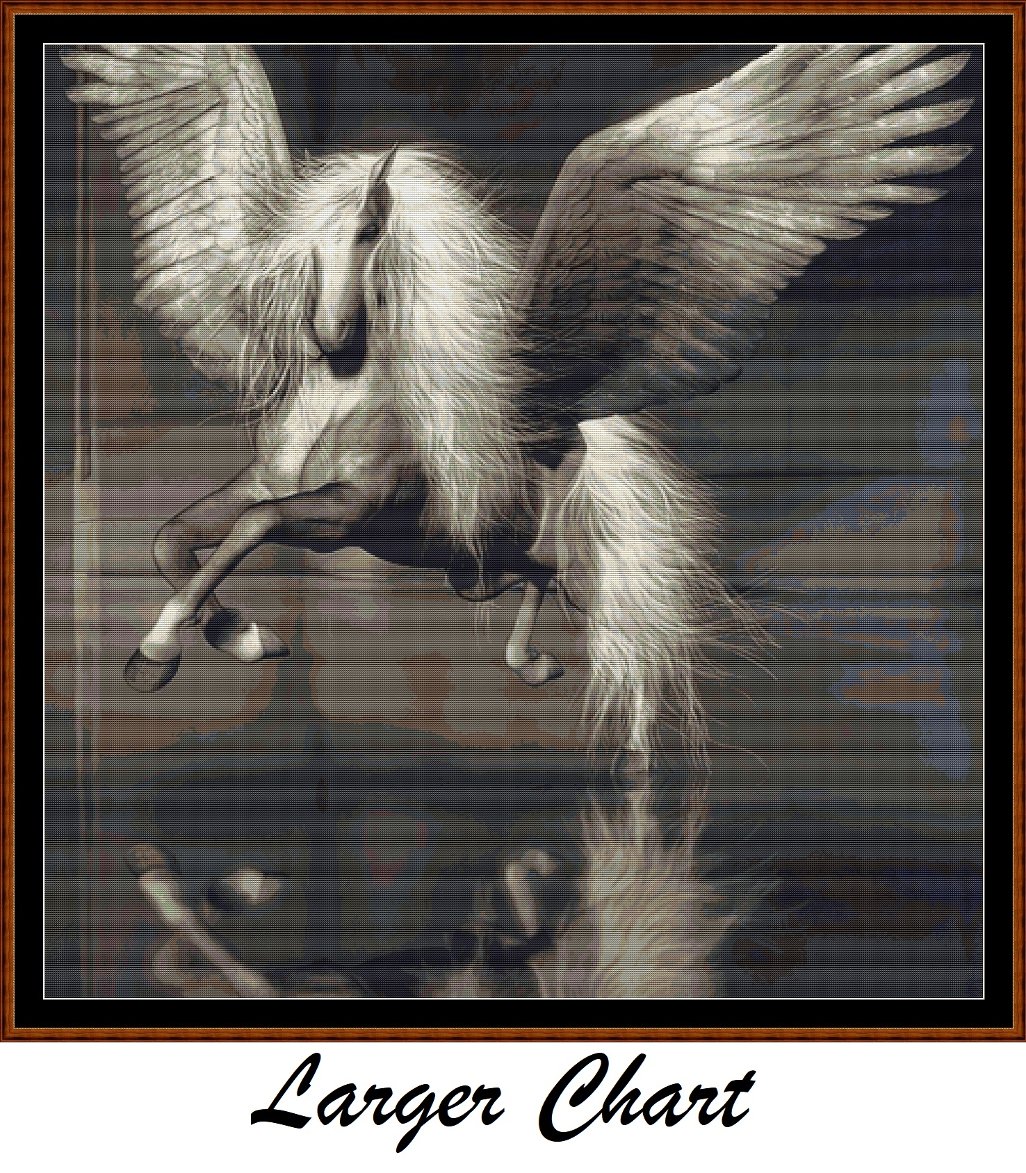Pegasus Cross Stitch