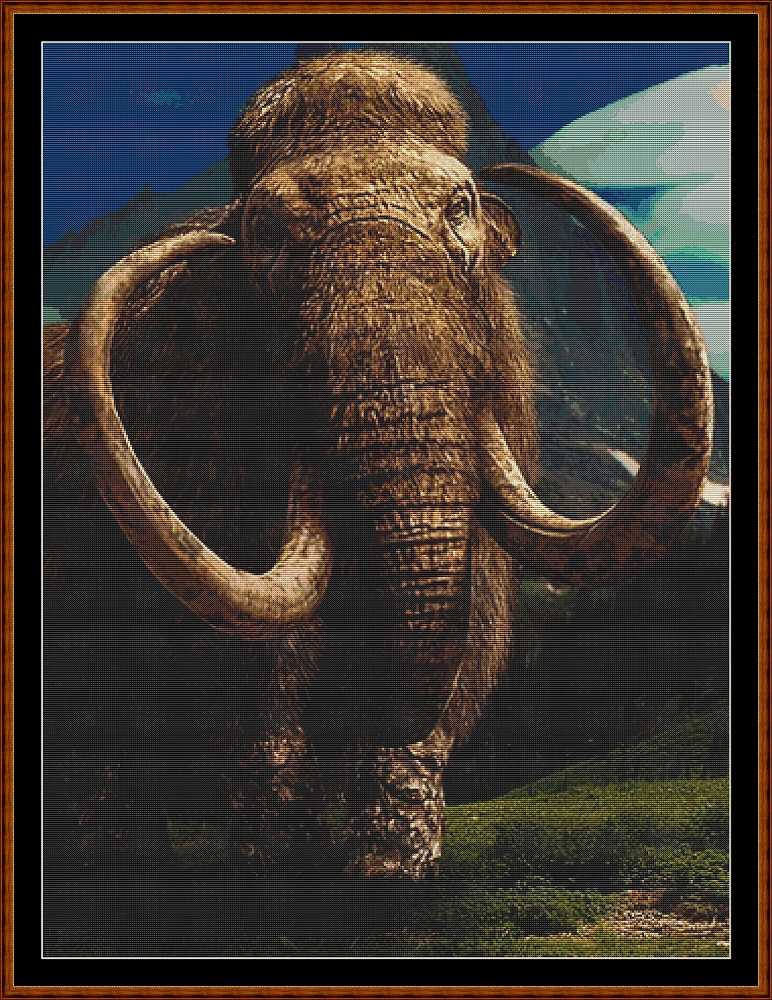 Mammoth Cross Stitch