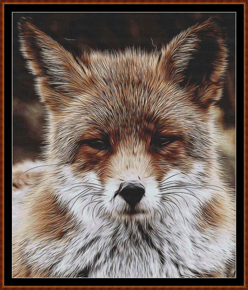 The Red Fox Cross Stitch