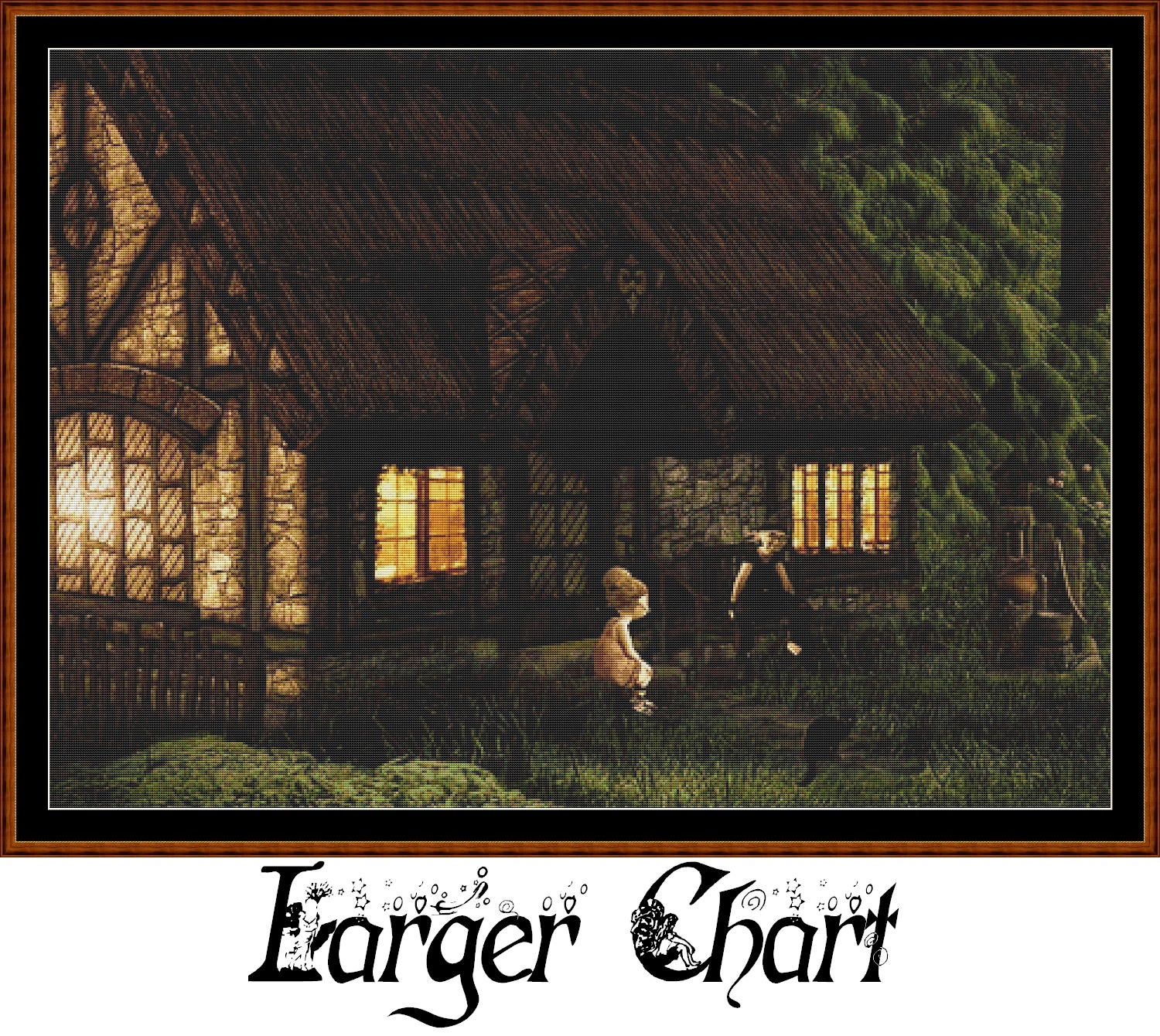 Forest Dwelling Cross Stitch - Click Image to Close