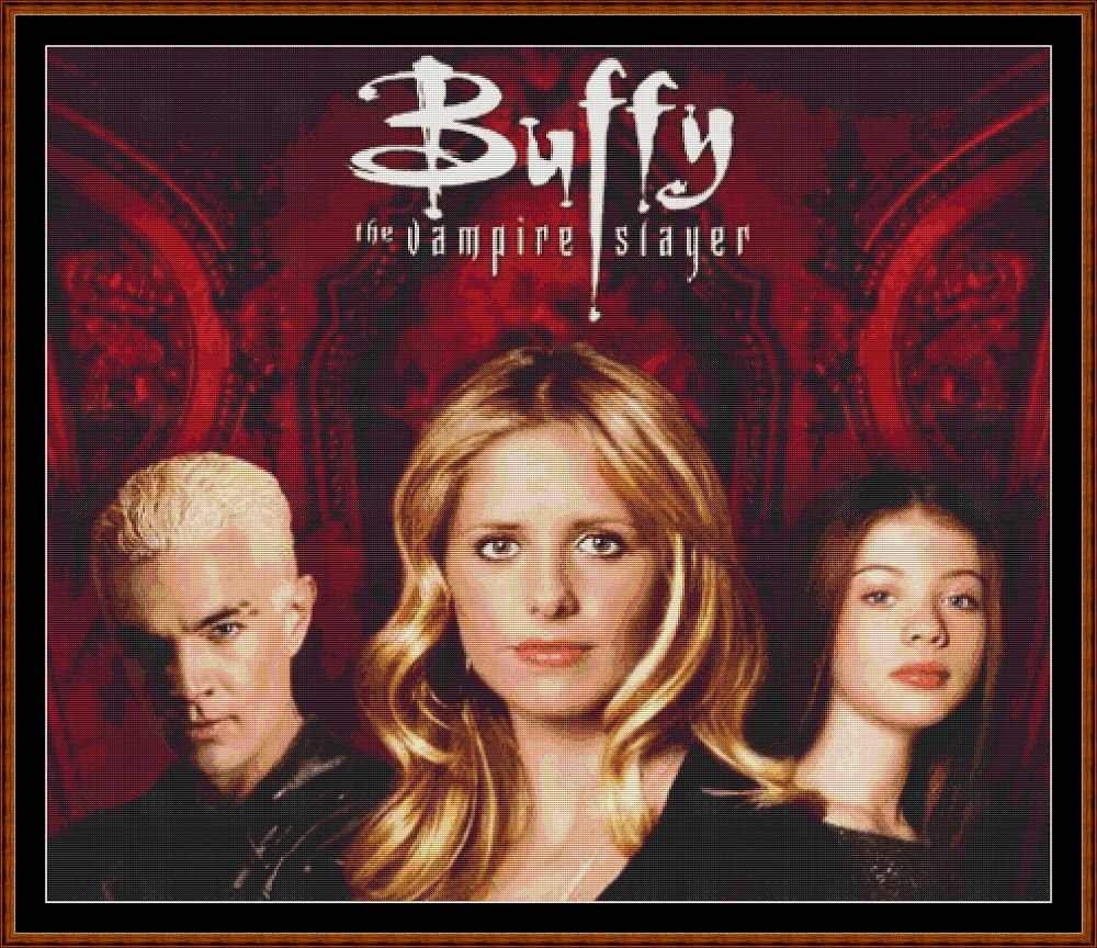 Buffy 1 Cross Stitch