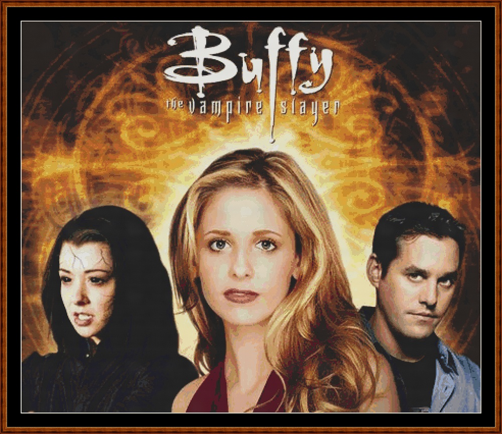 Buffy 2 Cross Stitch