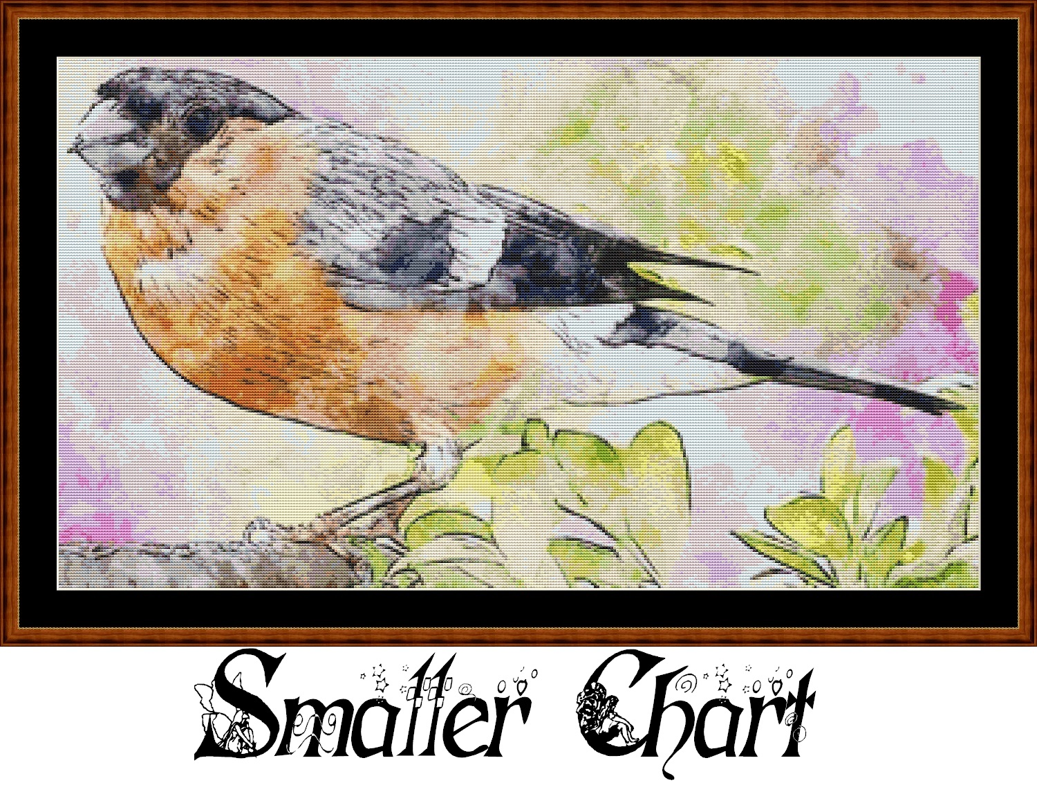 Bullfinch Cross Stitch
