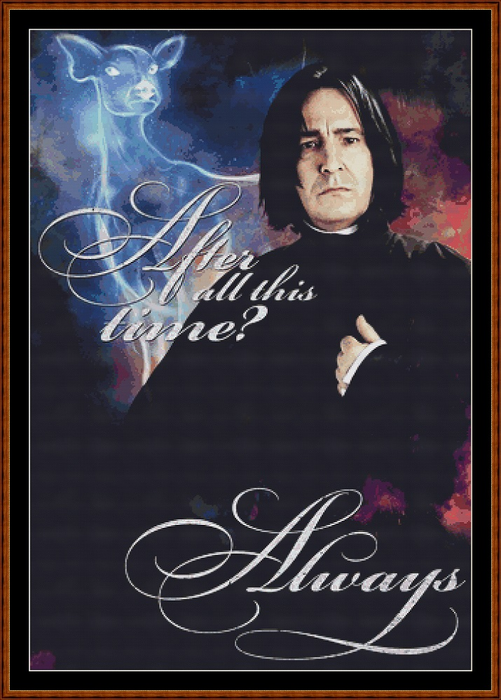 HP - After All This Time Cross Stitch
