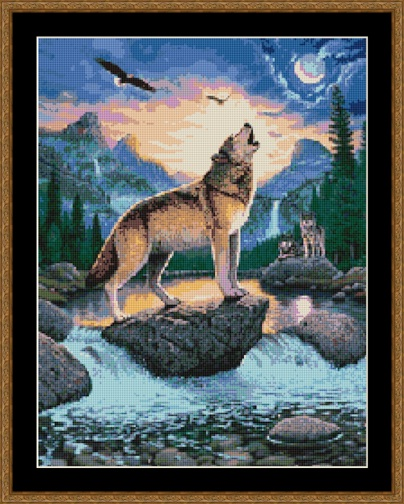Call Of The Wild Cross Stitch