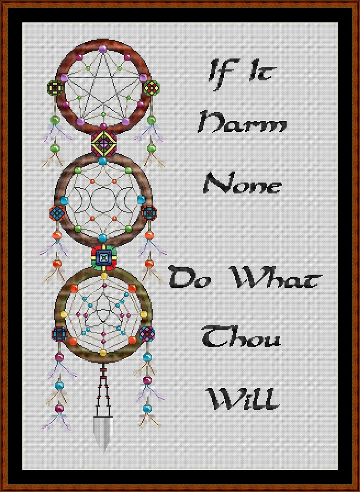 Dreamcatcher - Witch's Cross Stitch