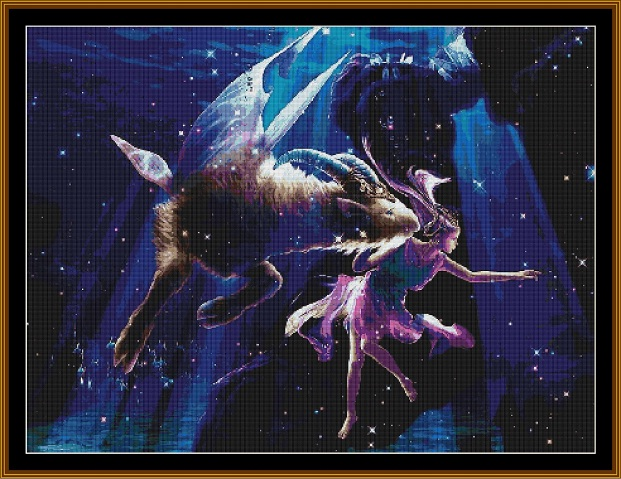 Capricorn 1 Cross Stitch