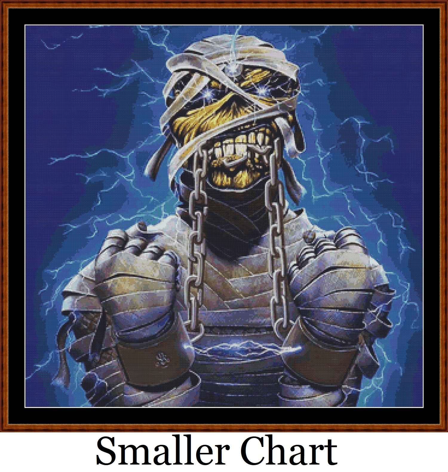 Iron Maiden 3 Cross Stitch