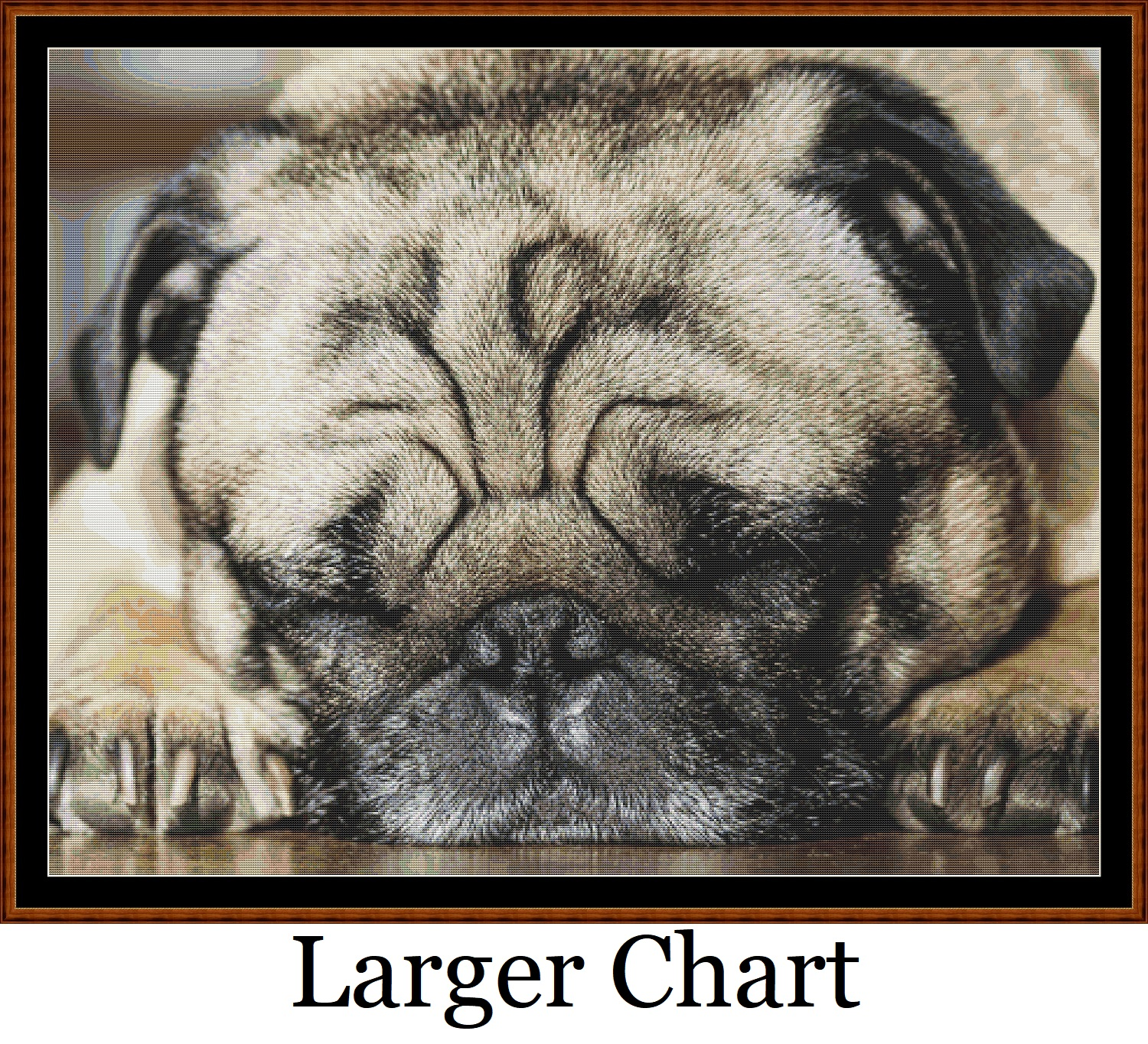 Sleepy Pups 2 - 3 Cross Stitch Charts Pack