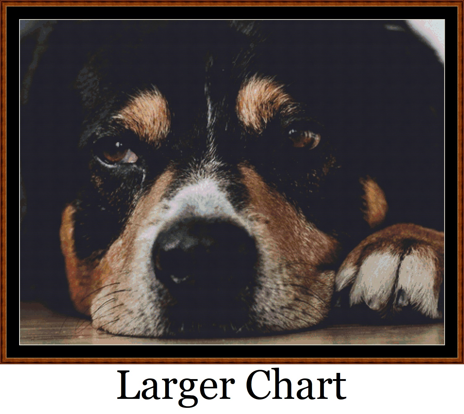 Sleepy Pups 2 - 3 Cross Stitch Charts Pack - Click Image to Close